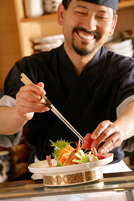 Contribution towards Dining at Samurai Sushi Bar and Restaurant