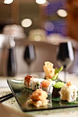 Contribution towards Dining at Caf� Sushi