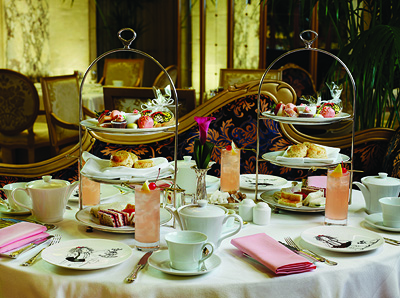 Afternoon Tea for Two in The Palm Court