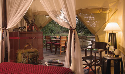 Contribution towards Our Riverfront Tent at Mara Safari Club