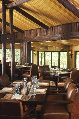 Contribution towards Dining at The Dining Room at Mara Safari Club