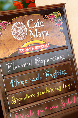 Contribution towards Dining at Café Maya
