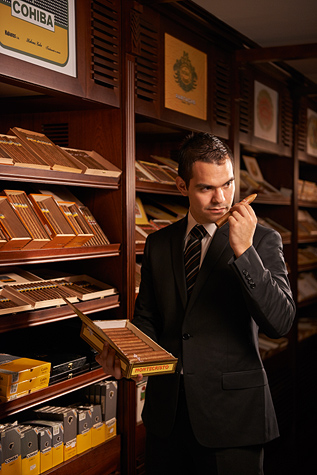 Contribution towards Drinks & Cigars at The Cigar Room