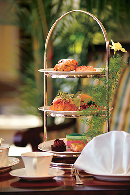 Contribution towards Afternoon Tea at the Fairmont Lounge